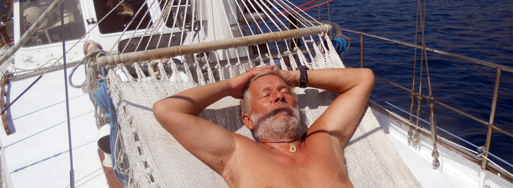 Sailing is a hard life